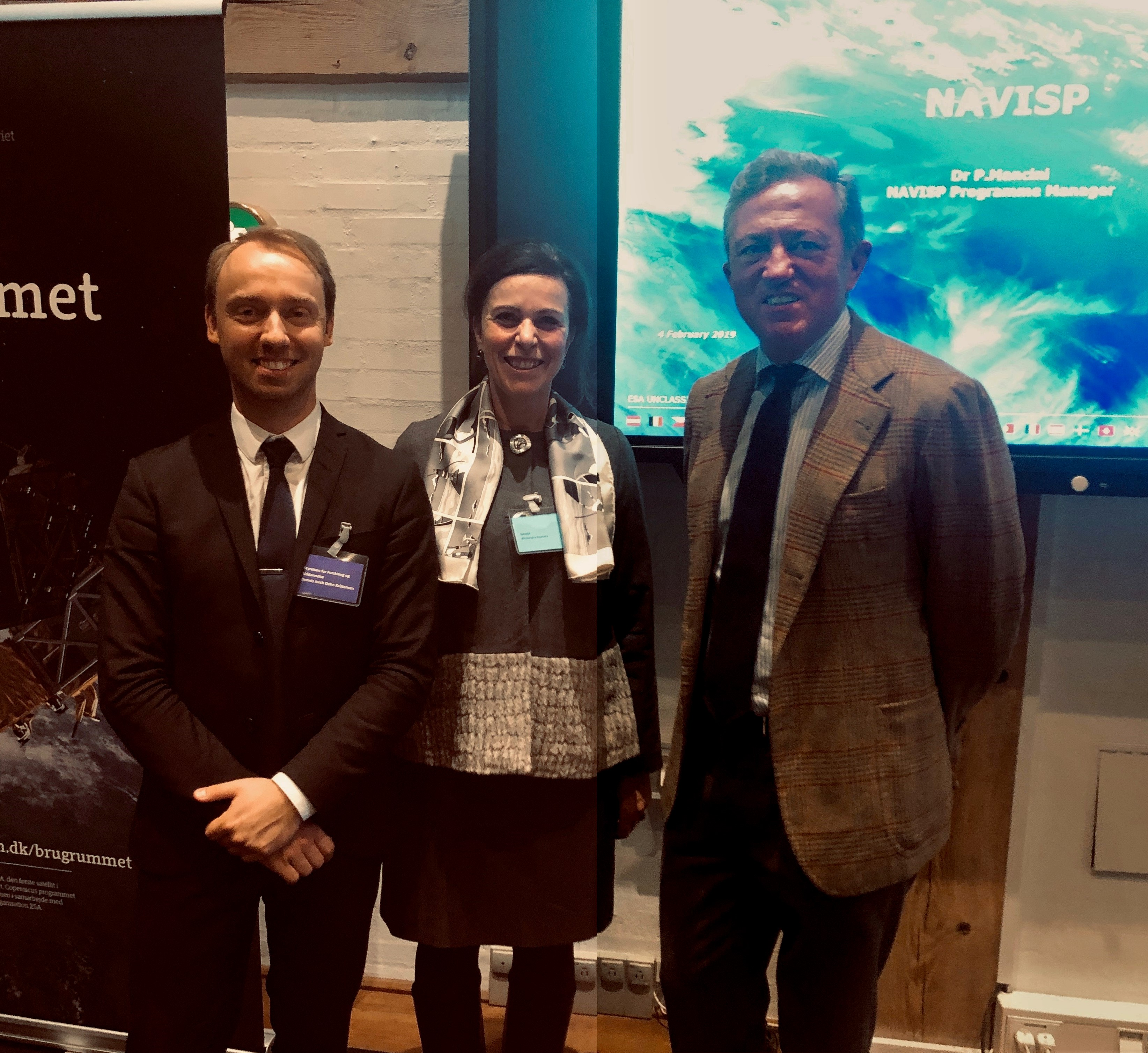 NAVISP on the scene in Copenhagen