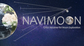 NAVIMOON - EARTH-MOON NAVIGATION / SYSTEM STUDY AND DEVELOPMENT OF A HIGHLY-SENSITIVE SPACEBORNE RECEIVER PROTOTYPE